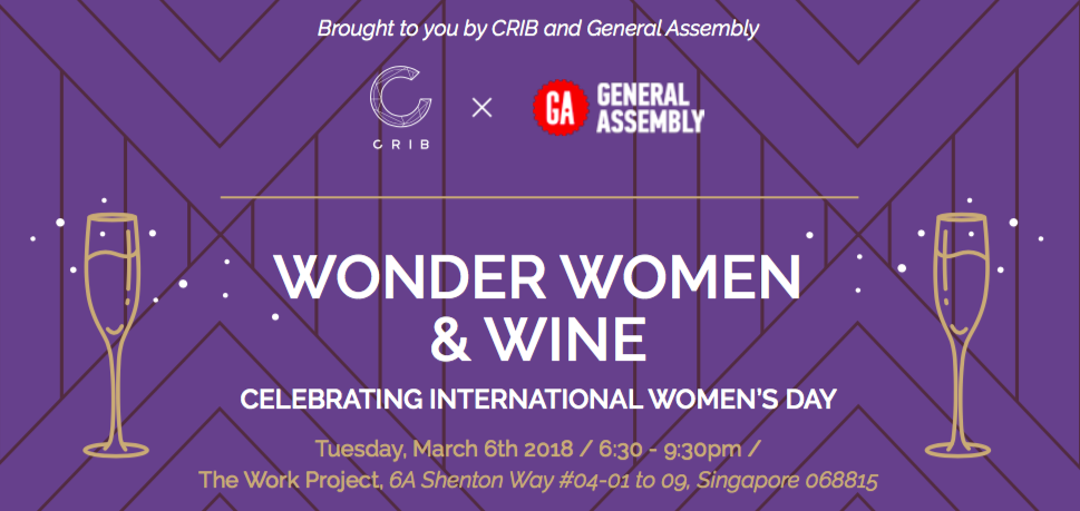 Wonder Women & Wine: Celebrating International Women's Day