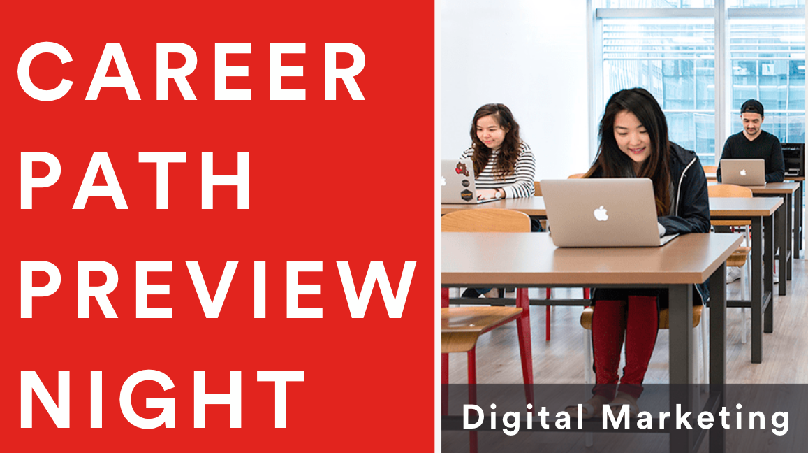 Career Path Preview Night: Digital Marketing