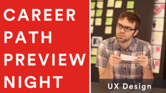 Career Path Preview Night: User Experience Design